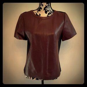 Halogen genuine leather top